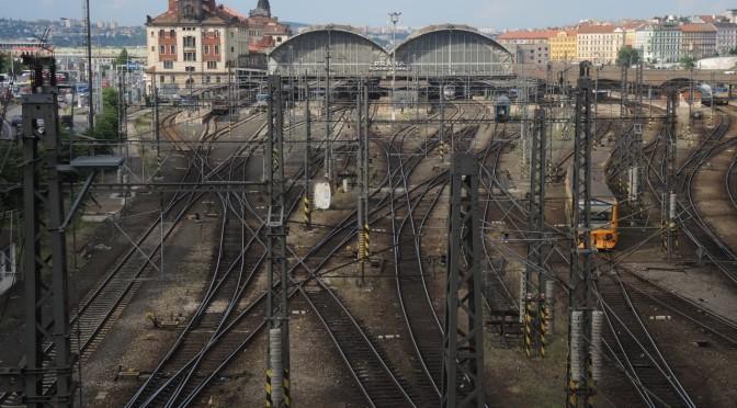 Eisenbahn Bahnhof