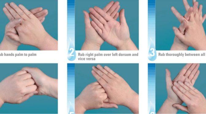 Covid-19: Richtiges Händewaschen